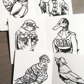 Birds in Clothes