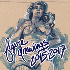 Figure Drawings 2015-2017