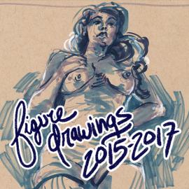 Figure Drawings 2015-2017