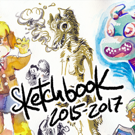 Sketchbook 2015-2017
