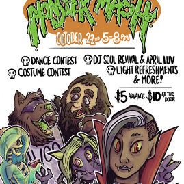 Monster Mash Flyer