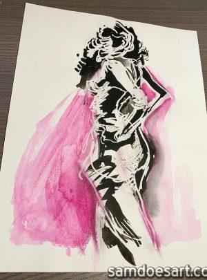 Ink Figure #1