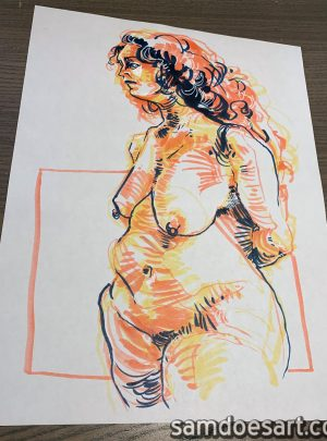 Marker Figure #4
