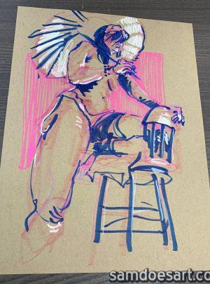 Marker Figure #8