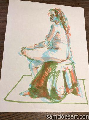 Marker Figure #5