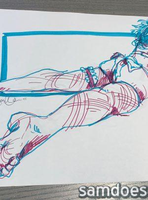 Marker Figure #6