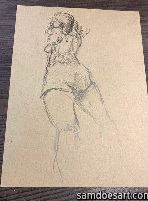 Pencil Figure #1